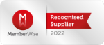 Memberwise recognised supplier logo
